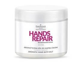 Farmona Hands Repair Aromatyczna sól do kąpieli dłoni 500g