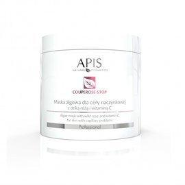 Maska algowa dla cery naczynkowej Apis Couperose-Stop z dziką różą i witaminą C 200 g