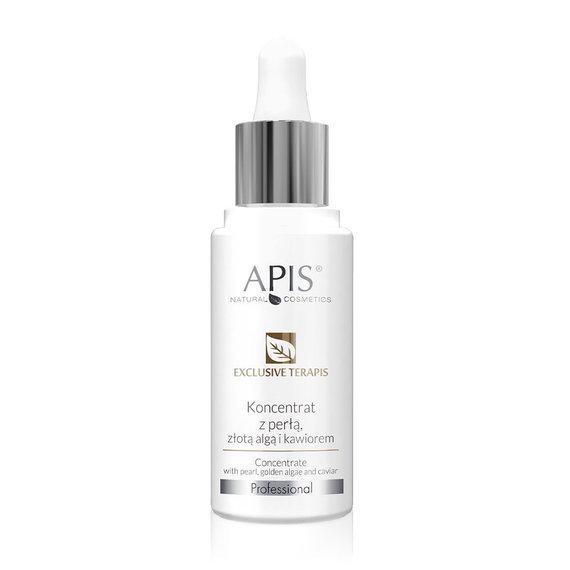 APIS Exclusive terApis koncentrat z perłą, złotą algą i kawiorem 30 ml