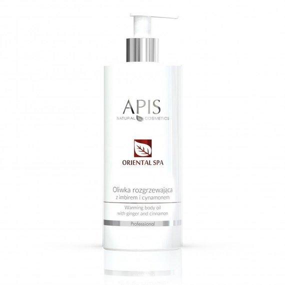 APIS Oriental SPA Oliwka rozgrzewająca z imbirem i cynamonem 500 ml