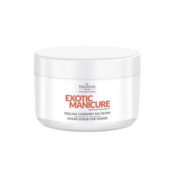 Farmona Exotic Manicure Peeling cukrowy do dłoni 300 ml