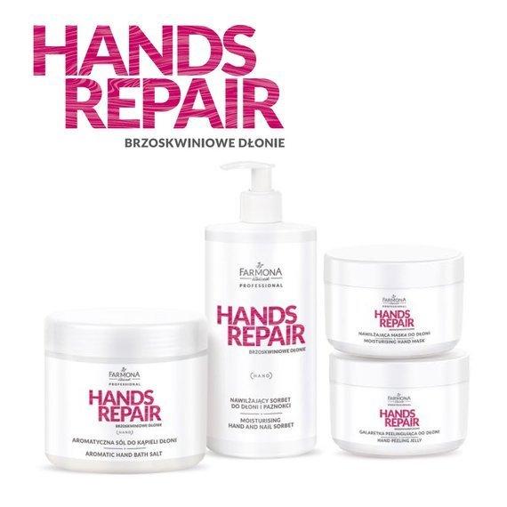 Farmona Hands Repair Nawilżająco - łagodzący zabieg na dłonie