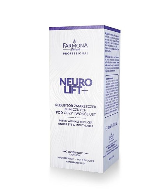 Farmona Neurolift+ Reduktor zmarszczek mimicznych pod oczy i wokół ust 30ml