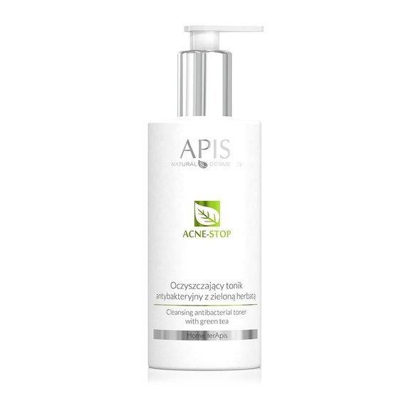 Oczyszczający tonik antybakteryjny Apis Acne-Stop Home Terapis 300 ml